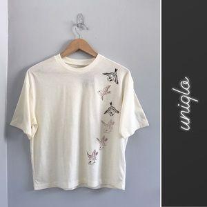 Uniqlo Katagami Bird T-Shirt NWT